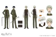 John H. Watson Anime Character Design