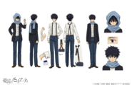 Fred Pollock Anime Character Design
