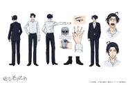 Sherlock Holmes Anime Character Design