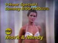 ABC Mork & Mindy promo November 1979