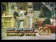 KTXH - 20-vision Mork and Mindy Promo - 1983