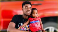 King with uncle