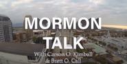 Mormon Talk Title Card