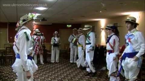 Morris Dancing Winster Morris Men dancing on 1st May 2012