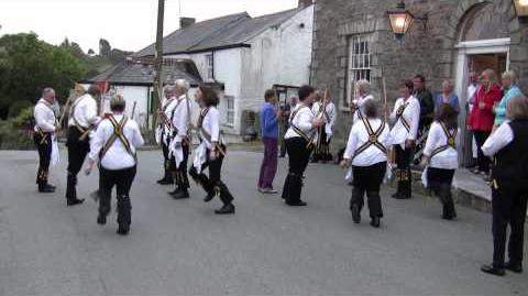 Morris Dancing Tywardreath Morris