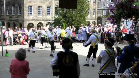 Morris Dancing Chapel-en-le-Frith Morris Men