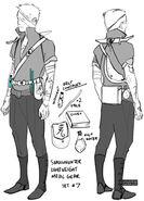 CJ Shadowhunter gear, set 07