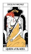 Tarot Blades Queen