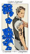 X CJ Flowers, Gabriel