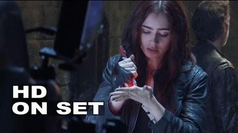 The Mortal Instruments City of Bones BTS B-roll 3