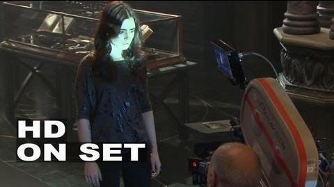 The Mortal Instruments City of Bones BTS B-roll 1