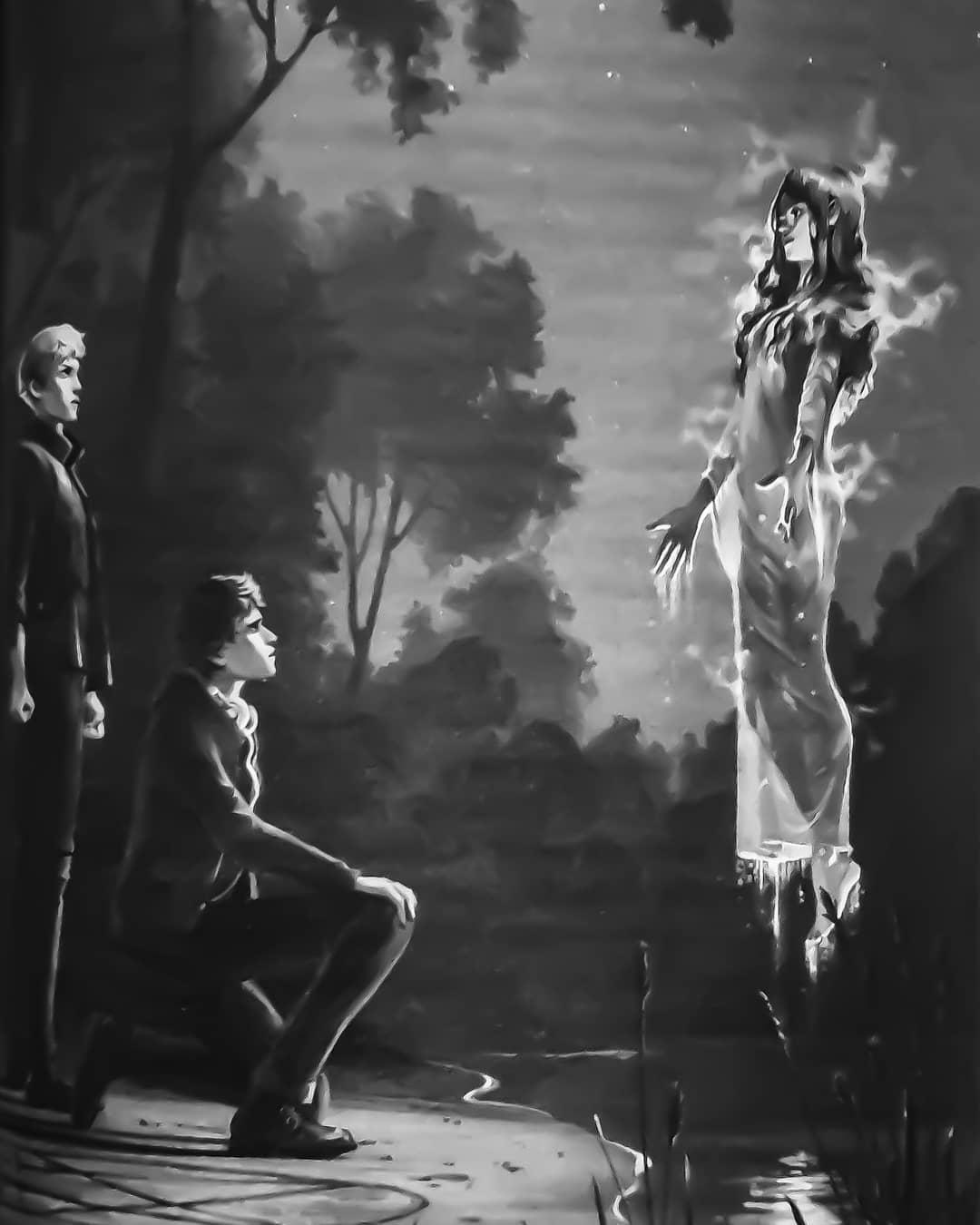 Livvy's resurrection ritual
