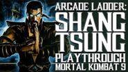 Mortal Kombat 9 (PS3) - Arcade Ladder Shang Tsung Playthrough Gameplay