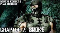 Mortal Kombat 9 (PS3) - Story Mode - Chapter 7 Smoke Gameplay Playthrough