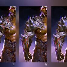 Mortal Kombat X MKX Concept Art MN Jax arms.jpg