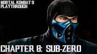 Mortal Kombat 9 (PS3) - Story Mode - Chapter 8 Sub-Zero Gameplay Playthrough