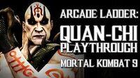 Mortal Kombat 9 (PS3) - Arcade Ladder Quan-Chi Playthrough Gameplay