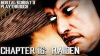 Mortal Kombat 9 (PS3) - Story Mode - Chapter 16 Raiden Gameplay Playthrough