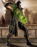 Shang Tsung Mortal Kombat vs DC Comics
