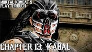 Mortal Kombat 9 (PS3) - Story Mode - Chapter 13 Kabal Gameplay Playthrough