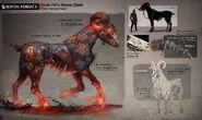 Img mkx arte cavalo demoníaco de quan chi