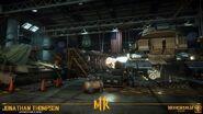 Mortal Kombat 11 Tank Garage Bunker