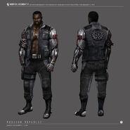 Mortal kombat x jax concept art by johnsonting