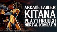 Mortal Kombat 9 (PS3) - Arcade Ladder Kitana Playthrough Gameplay