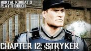 Mortal Kombat 9 (PS3) - Story Mode - Chapter 12 Stryker Gameplay Playthrough