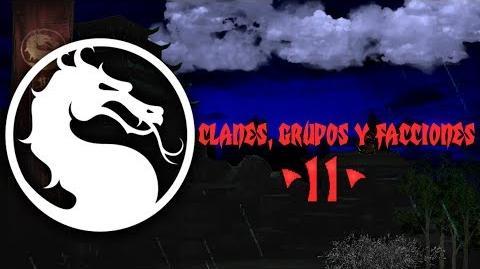 Mortal Kombat clanes, grupos y facciones - parte 2 -