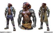 Mortal Kombat X MKX Concept Art MN Jax 01