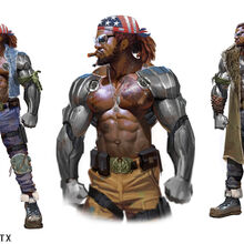 Mortal Kombat X MKX Concept Art MN Jax 01.jpg