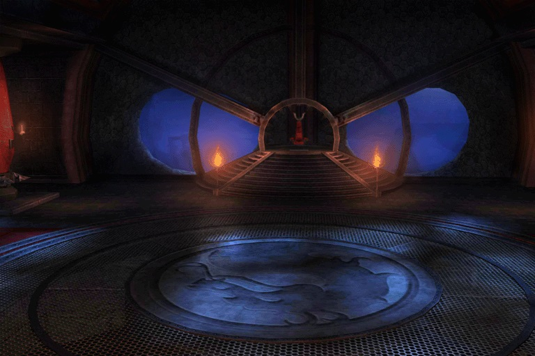 Shao Kahn's Throne Room