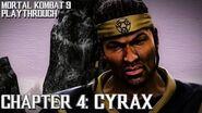 Mortal Kombat 9 (PS3) - Story Mode - Chapter 4 Cyrax Gameplay Playthrough