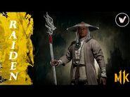Raiden - Fatality I Brutality I Friendship - Mortal Kombat 11