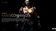 MKX Kano Commando