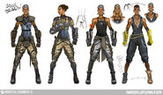 Mortal Kombat X MKX Concept Art MN Jacqui Briggs 02