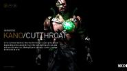 MKX Kano Cutthroat