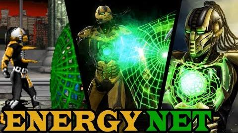 Evolution of Cyrax's Energy Net (1995-2018)