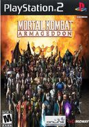 Mortal Kombat Armagedddon Dvd Spanish custom--cdcovers cc--front