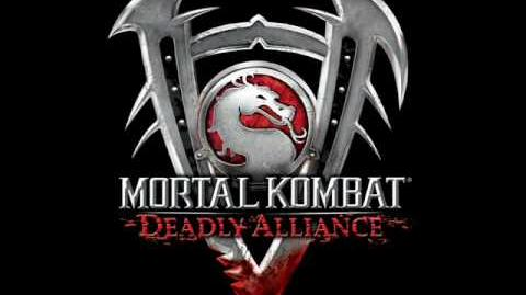 Mortal kombat Deadly Alliance Character Select Screen