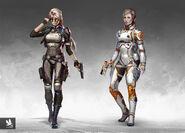 Atomhawk-design-atomhawk-warner-bros-netherrealm-mortal-kombat-11-concept-art-character-design-side-by-side-cassie-cage