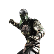 Mortal kombat x ios reptile render 3 by wyruzzah-d8p0p2a