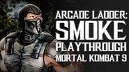 Mortal Kombat 9 (PS3) - Arcade Ladder Smoke Playthrough Gameplay