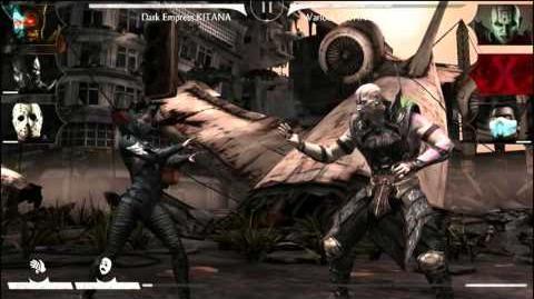 Dark Empress Kitana - Mortal Kombat X Mobile