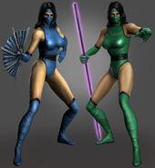 MK2 Kitana Jade