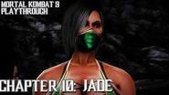 Mortal Kombat 9 (PS3) - Story Mode - Chapter 10 Jade Gameplay Playthrough