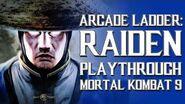 Mortal Kombat 9 (PS3) - Arcade Ladder Raiden Playthrough Gameplay