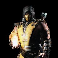 Mortal kombat x ios scorpion render by wyruzzah-d8p0lwl