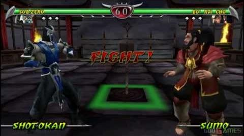 Mortal Kombat Unchained - Gameplay PSP HD 720P (Playstation Portable)